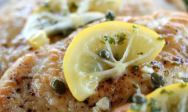 Chicken Piccata. Keep it simple and focus on bright fresh flavors for a company worthy dish that is done in less than 30 minutes.