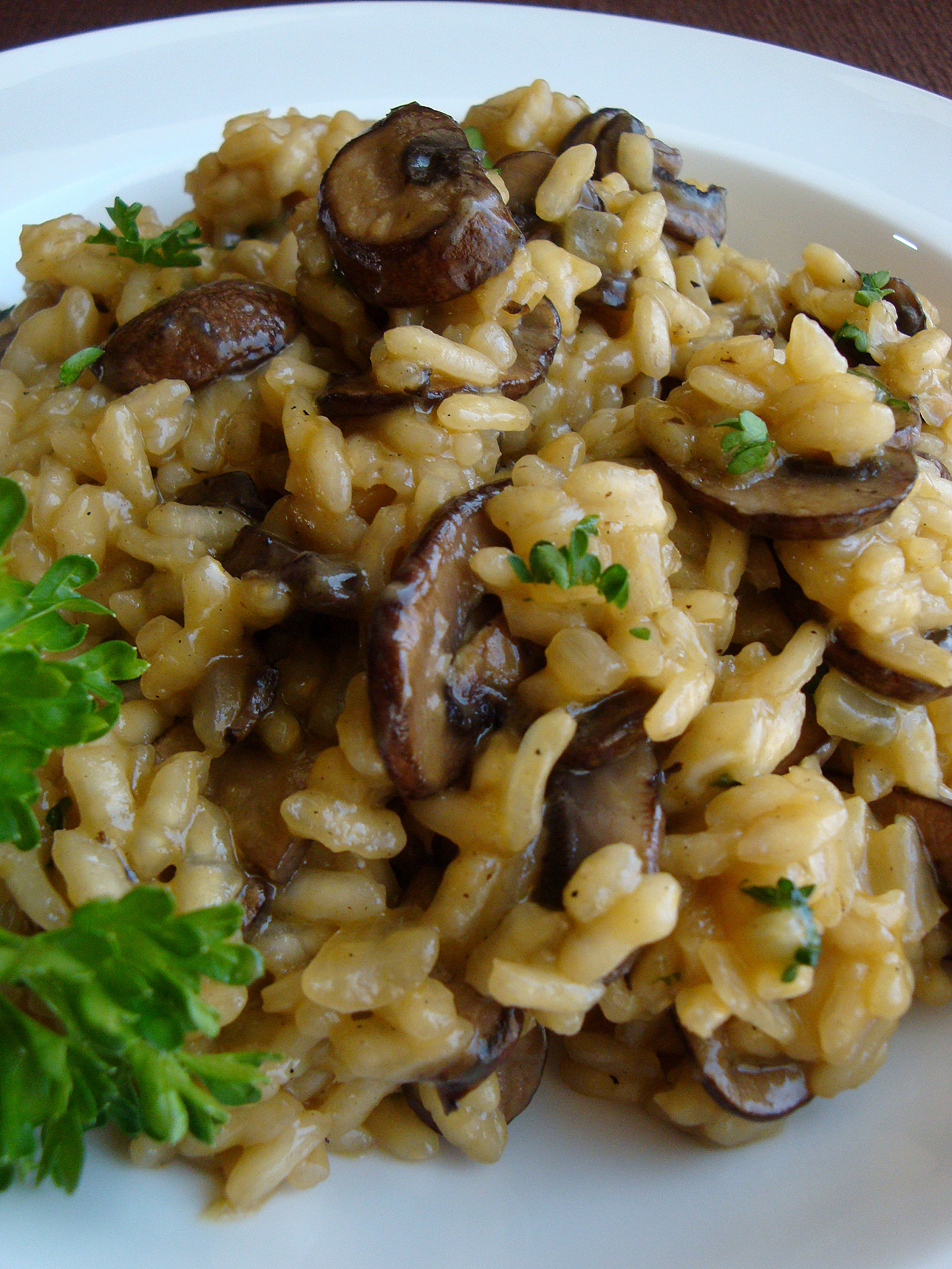 ... Mom | Perfect Mushroom Risotto with Risotto Tutorial - Good Dinner Mom