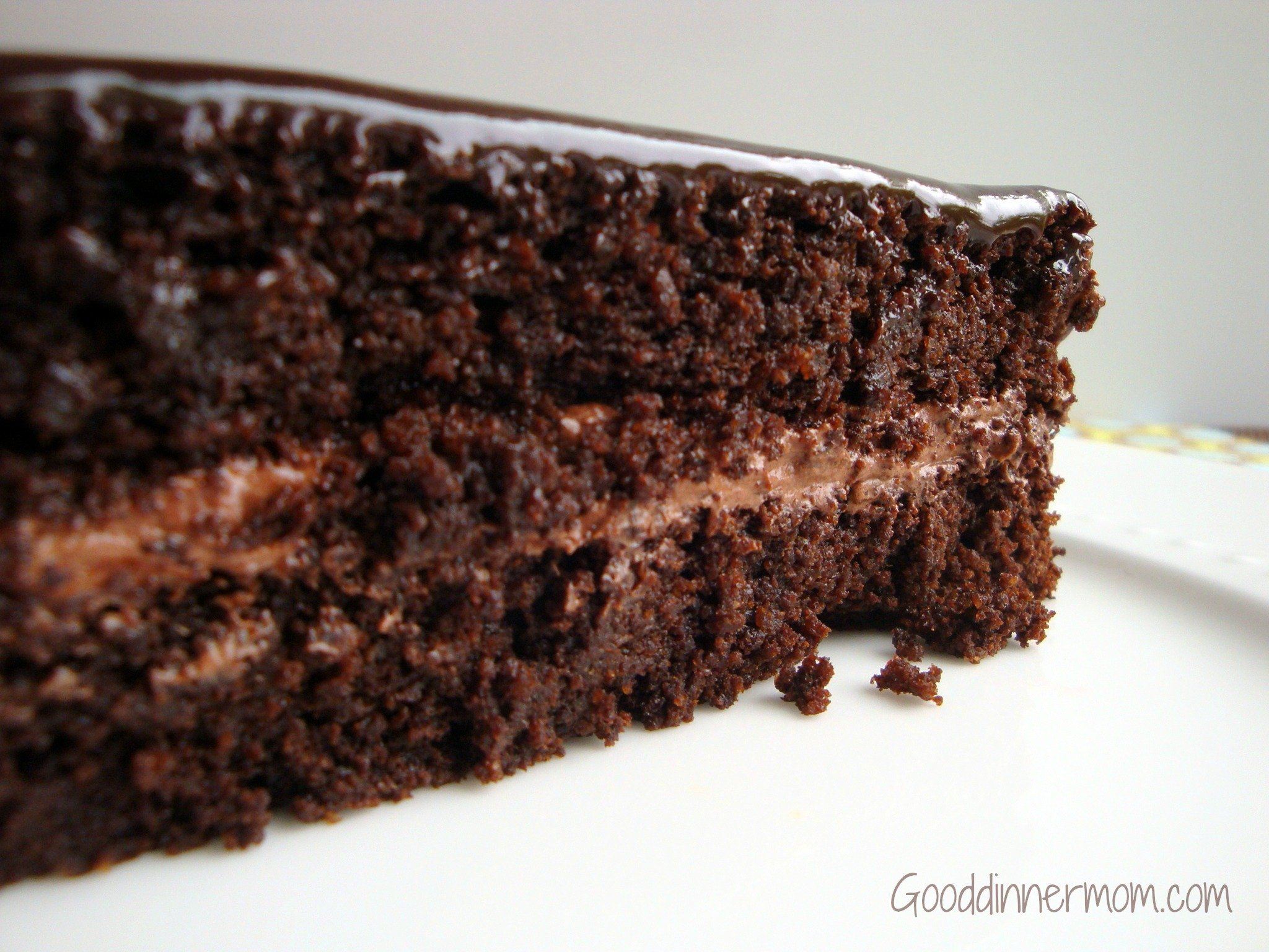 Chocolate Cake by Good Dinner Mom
