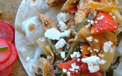 Best Chicken Fajitas with Rajas con Crema
