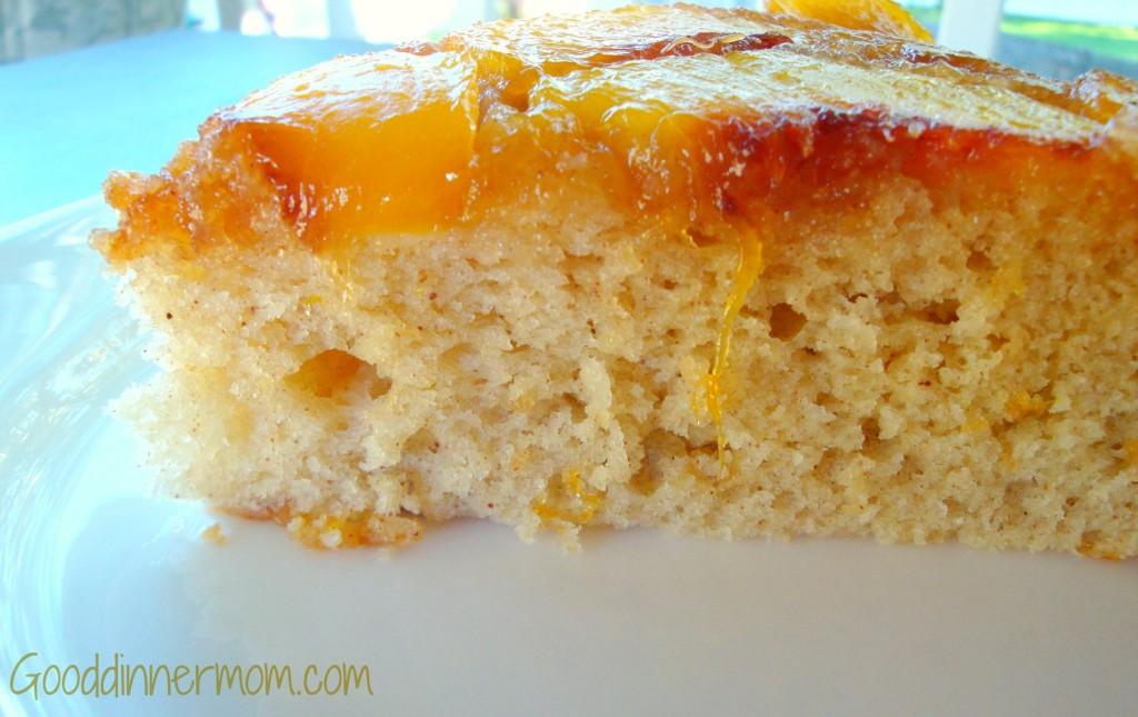 Good Dinner Mom | Peach Tatin or Peach Upside Down Cake - Good Dinner ...