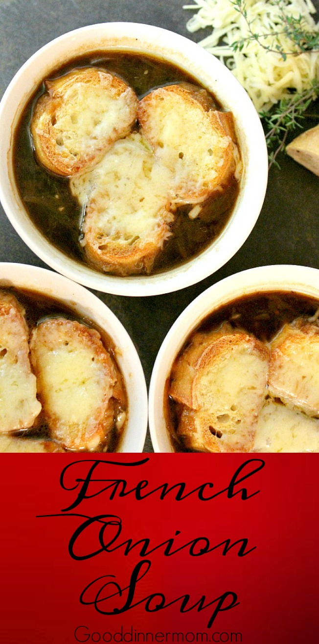 Authentic French Onion Deep Flavor Comes Through In This Soup Easy Instructions You Don