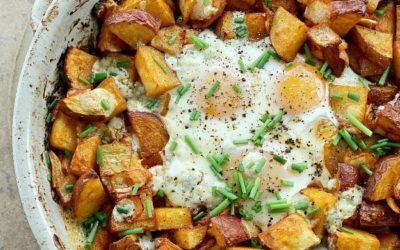Smoked Paprika Potato and Egg Bake