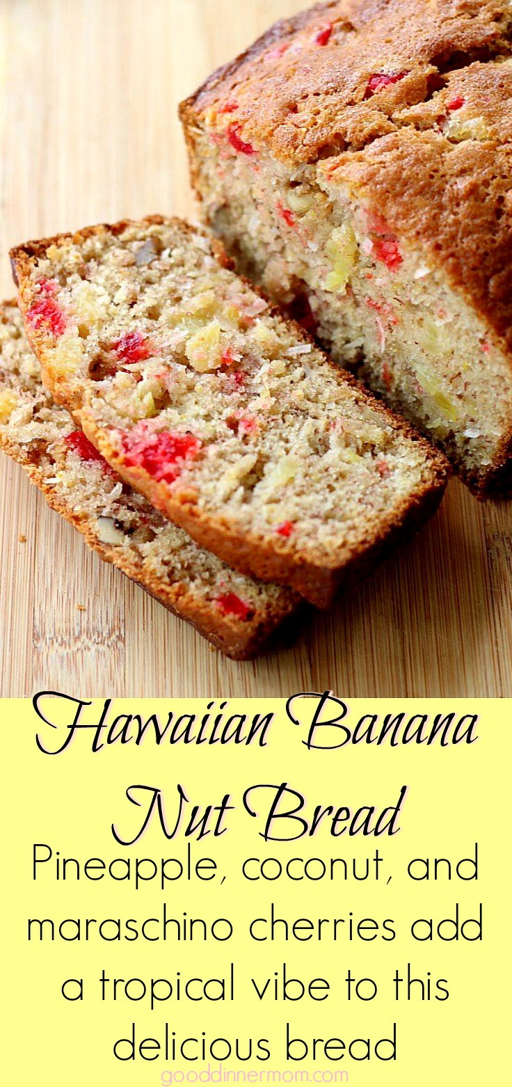 Super moist Hawaiian Banana Nut Bread