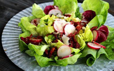 Butter Blossom Lettuce Salad
