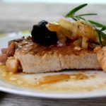 Balsamic Pork Chops with Figs {Instant Pot or Stove Top}