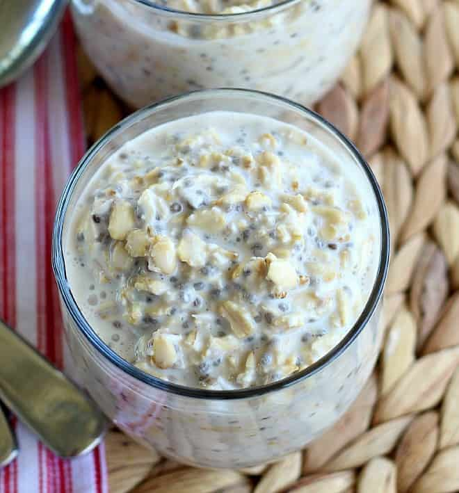 Overnight Oatmeal. Serve hot or cold, plain or with fresh toppings.