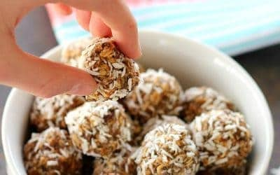Nutty Chia Energy Bites