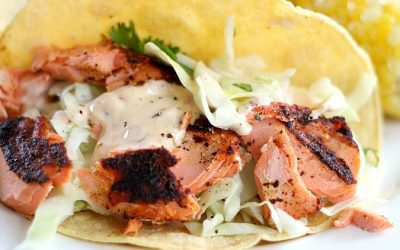 The Best Grilled Fish Tacos I've Ever Made