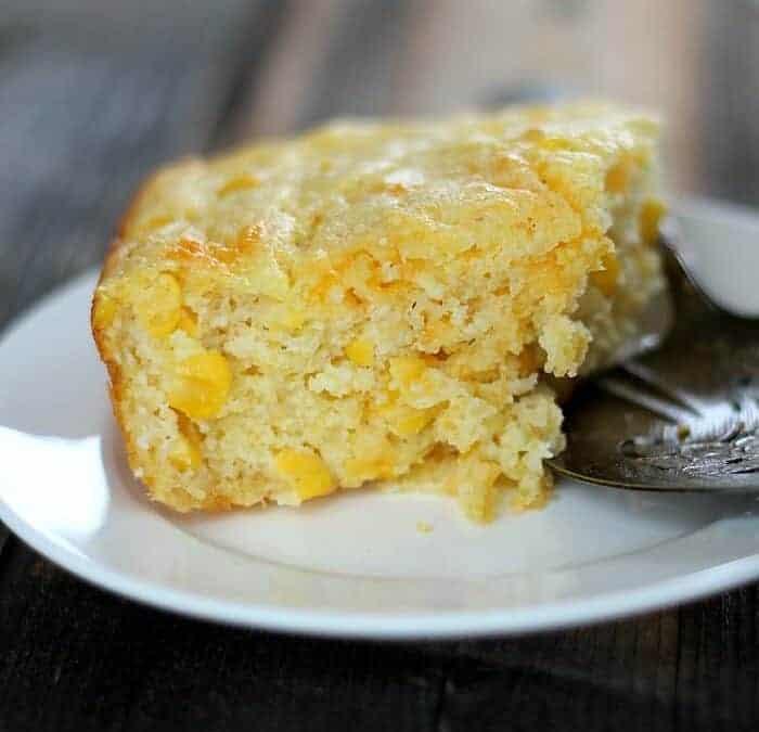 Quick Corn Spoonbread