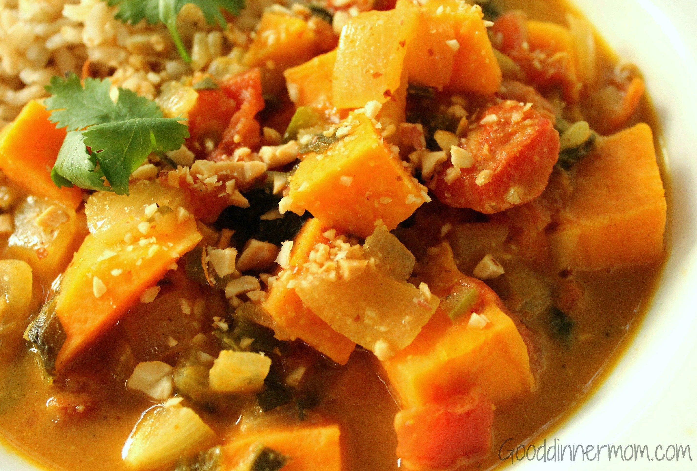 African Peanut Stew Recipe — Dishmaps
