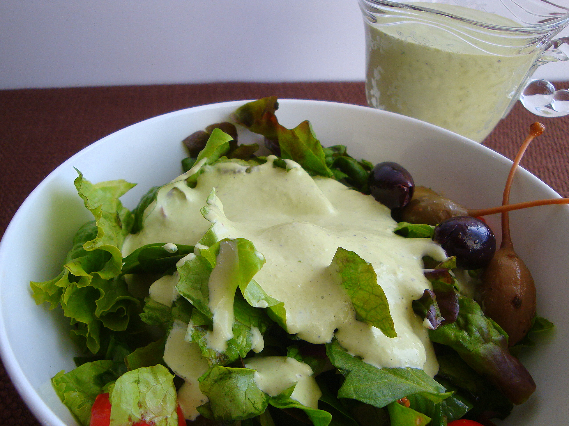 Basil Green Goddess Salad Dressing – Good Dinner Mom