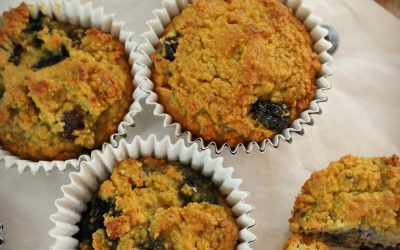 Blueberry Muffins with Coconut and Chia Seeds – Grain Free