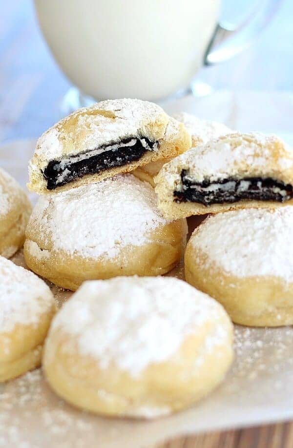 Coal In The Snow Cookies
