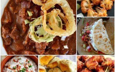 My Best Football Food Recipes