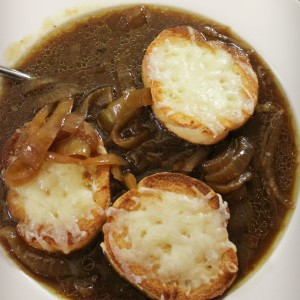 French Onion Soup In The Slow Cooker