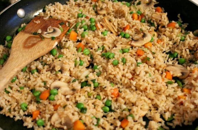 Fried Rice Easy Frittata recipe
