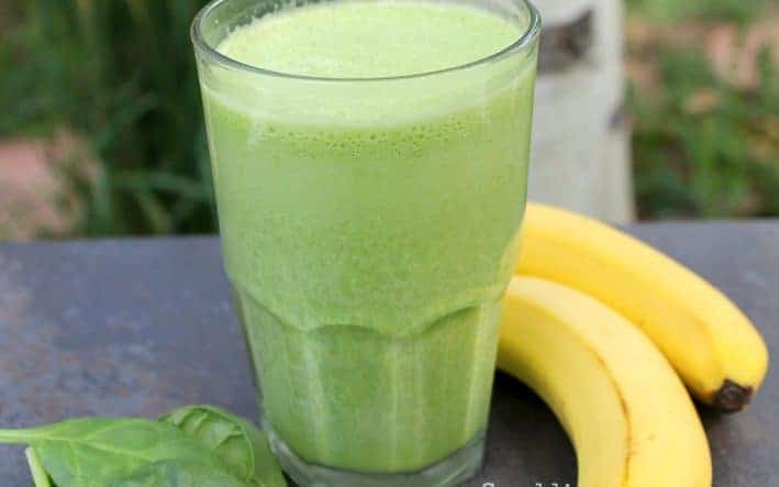 Green Banana Smoothie