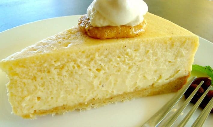 Hazelnut Vanilla Cheesecake