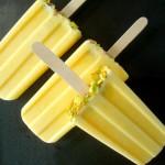 Mango Lassi Popsicles