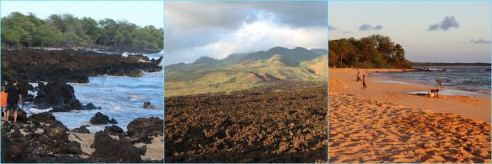 Makena lava fields