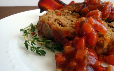 World's Best Meatloaf with Tomato Relish