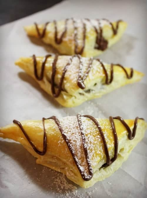 Nutella Puff Pastries