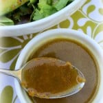Orange Vinaigrette Salad Dressing