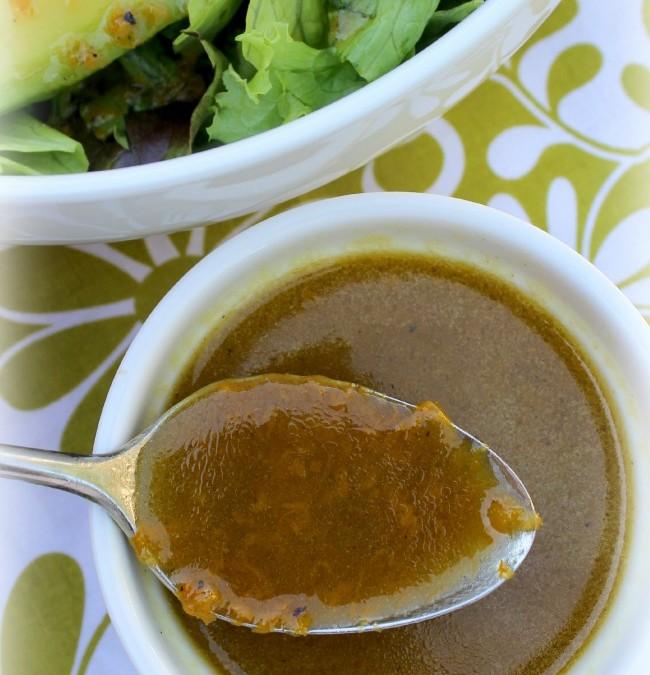 Orange Vinaigrette Salad Dressing