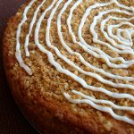 Peach Coffee Cake with Buttermilk