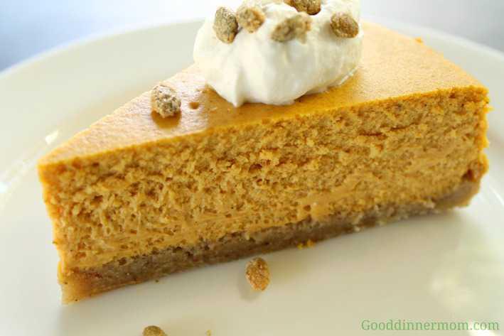Pumpkin Cheesecake - Good Dinner Mom