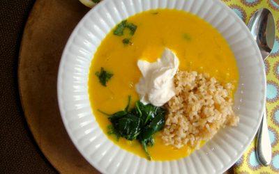Red Lentil and Lemon Soup