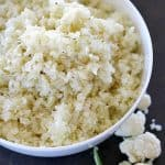 Simple Cauliflower Rice