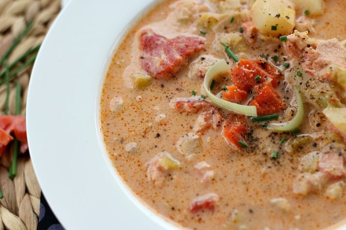 Smoked Salmon Chowder5this