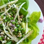 Butter Lettuce and Spring Pea Salad with Mustard Vinaigrette