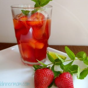 Strawberry-Mint Iced Tea