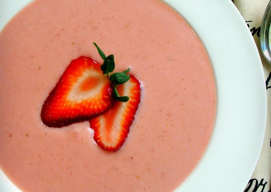 Strawberry Soup