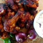 Sweet Heat Roasted Chicken Wings