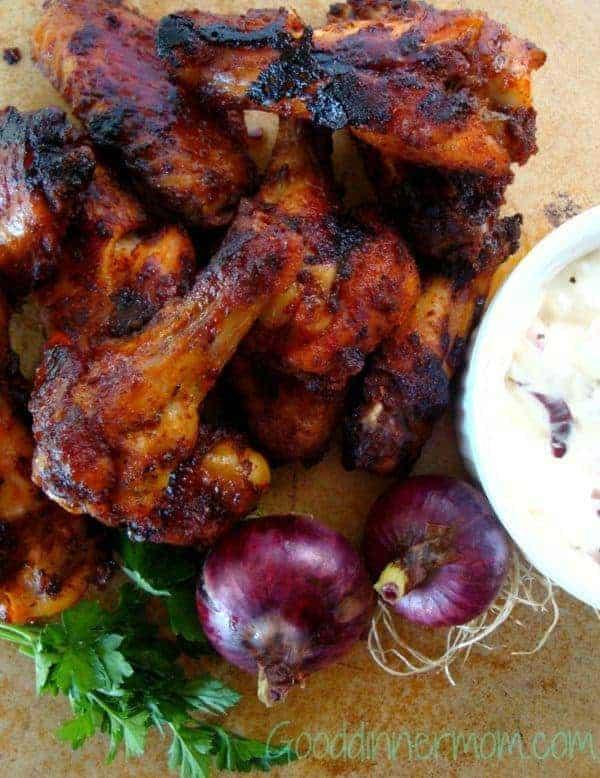Sweet Heat Chicken Wings