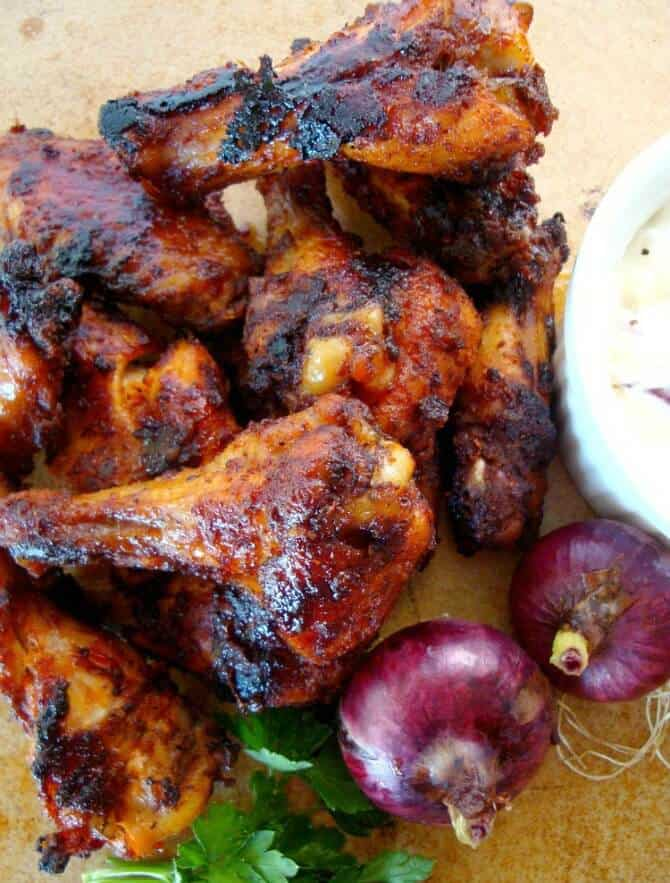 Here are some delicious option for the Ultimate Chicken Wing Recipes. Everything from Buffalo Wings, to Thai and Cajun. Even a vegetarian option!