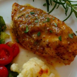Sweet Mustard Chicken