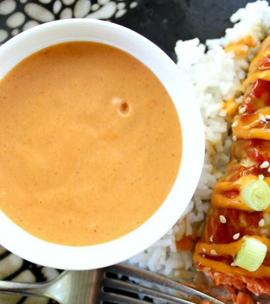 Sriracha Cream Sauce