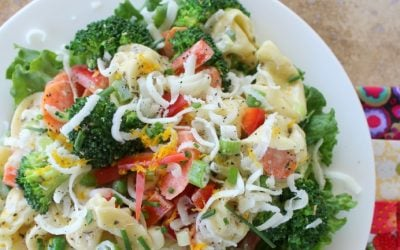 Tortellini Primavera Salad… and what it means to be a foodie