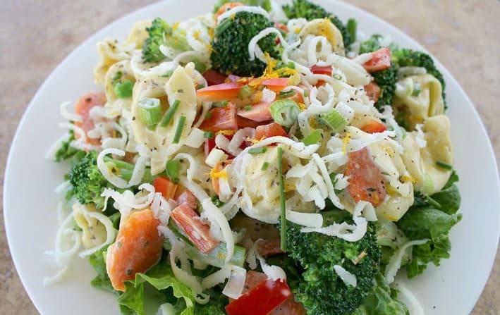 Tortellini Primavera Salad