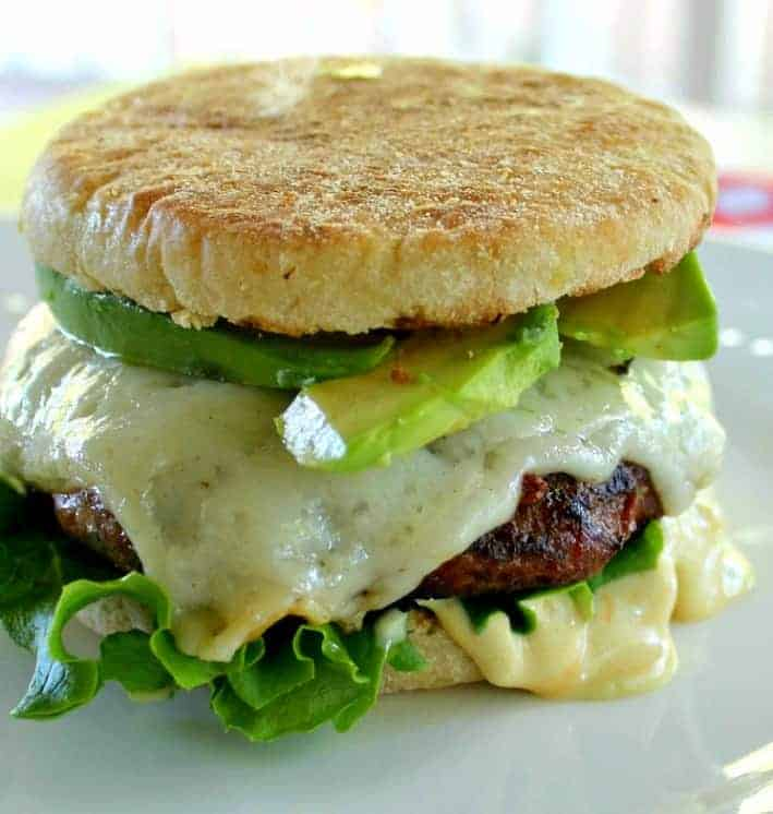 Moist and Delicious Turkey Burgers.