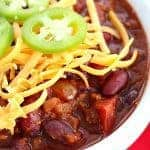 Turkey Chili in the Slow Cooker