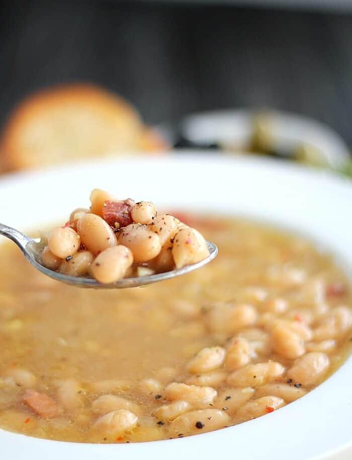Tuscan White Bean Soup5