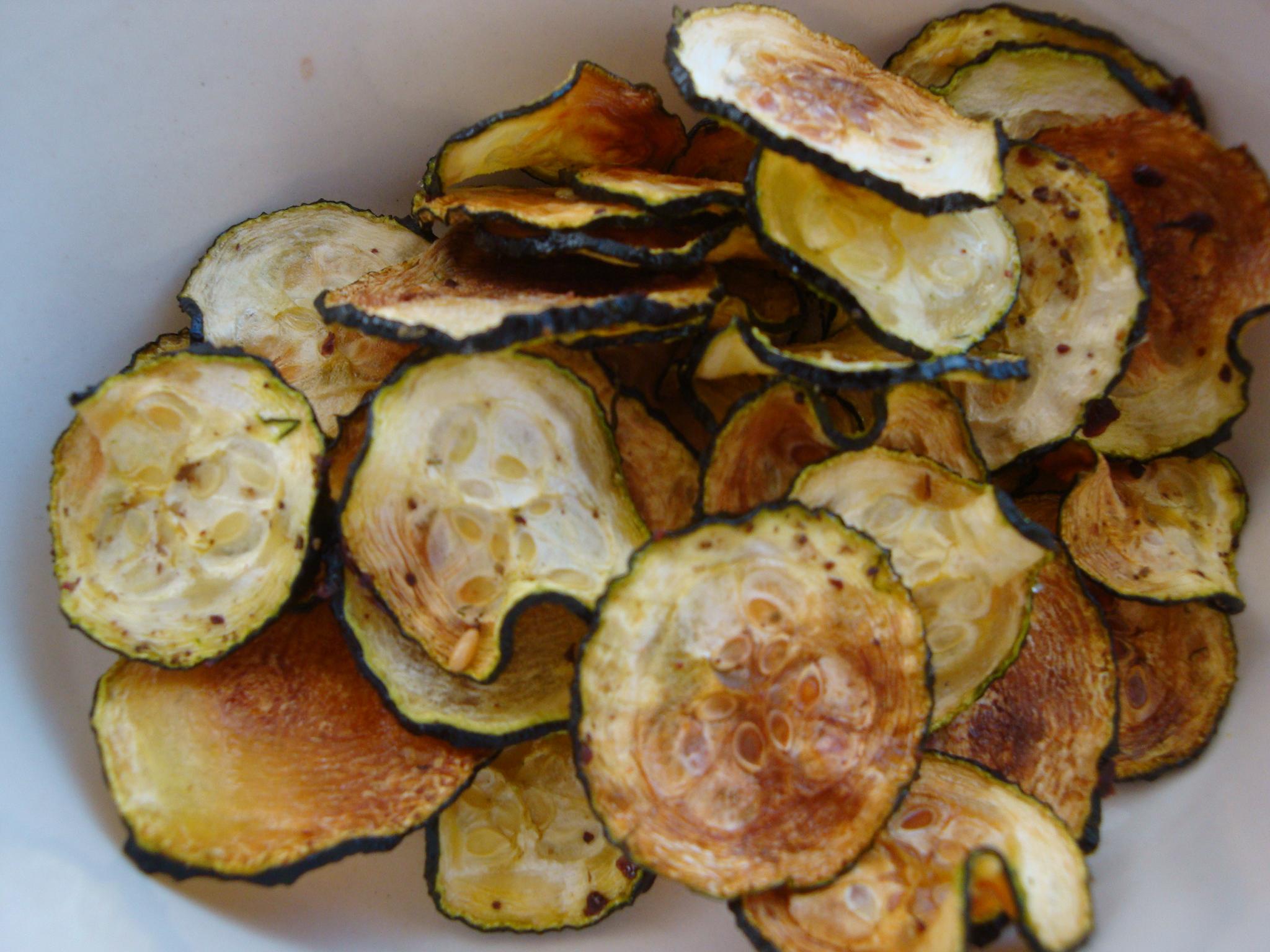 Zucchini Chips, Baked Zucchini Chips