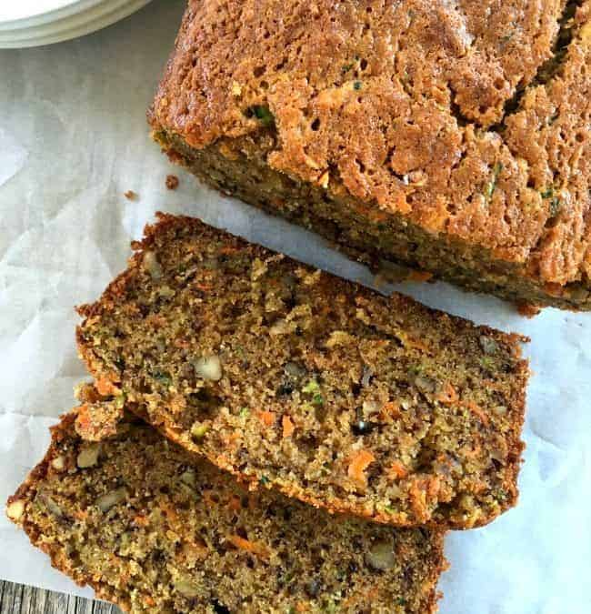 Zucchini Carrot Banana Bread or The BEST banana bread