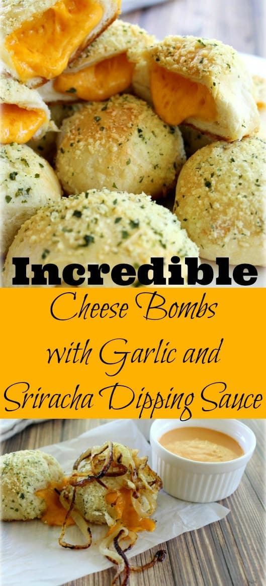 Incredible Cheese Bombs